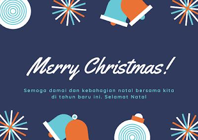 Kartu Ucapan Hari Natal