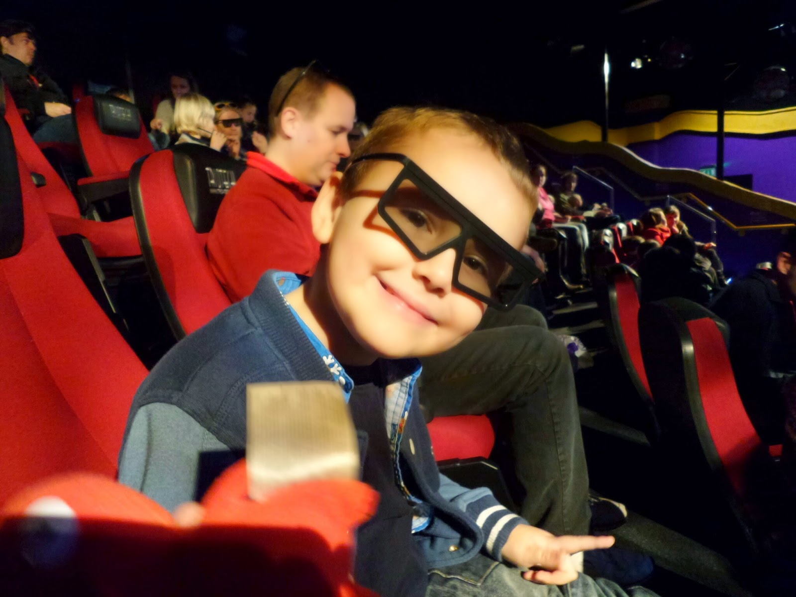 Big Boy ready for the 4D Attraction at Cadbury World
