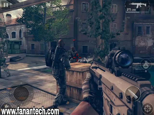 تحميل لعبة ظلام الحرب مودرن كومبات Modern Combat 5 مهكرة للاندرويد 2020