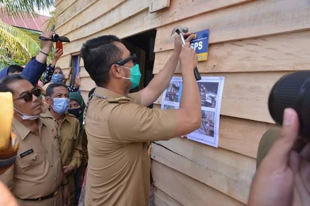 Wujud Perhatian Bupati ASA, 5 Desa Kembali Dapat Bantuan Bedah Rumah