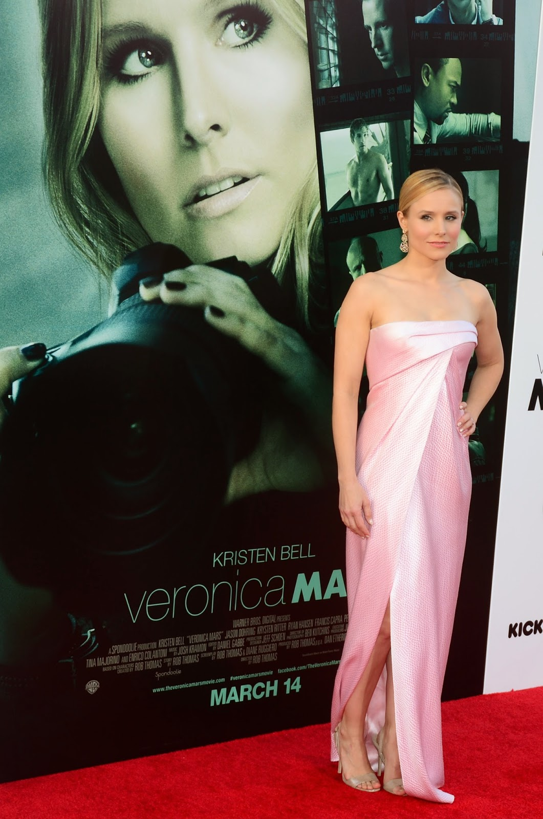"""""""Veronica Mars"""" movie Premiere with Cast: HD Pictures"""
