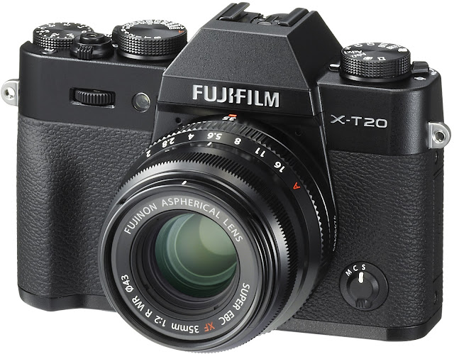 Fujifilm X-T20 - one of the best mirrorless cameras in 2017