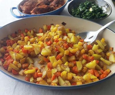 Roasted Potatoes, Carrots & Rutabaga