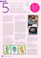 Interview Published in Making Cards Magazine