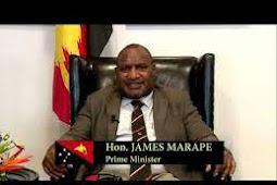 Inilah Pidato Perdana Menteri Papua Nugini, James Marape di Debat Umum PBB ke 75