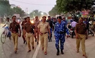 Security link for Shriram temple worship