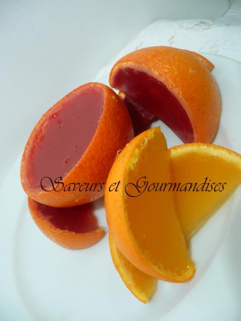 saveurs et gourmandises oranges en gel e l agar agar. Black Bedroom Furniture Sets. Home Design Ideas