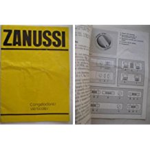 Folleto Publicidad - Brochure Advertising : ZANUSSI, Congeladores Verticales.