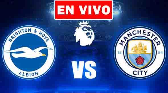 EN VIVO   Brighton vs. Manchester City, Jornada 37 de la Premier League ¿Dónde ver el partido online gratis en internet?