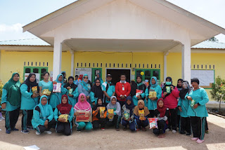 Meriahnya HUT Desa Penuba Timur diwarnai berbagai Perlombaan dan Dopres