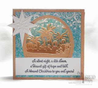 Our Daily Bread Designs Stamp Set: Christmas Card Scriptures, Custom Dies:Diorama, Bethlehem, Splendorous Stars, Paper Collection: Christmas 2014