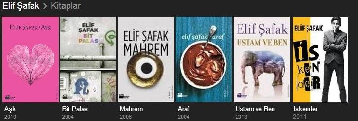 Картинки по запросу elif safak kitaplari