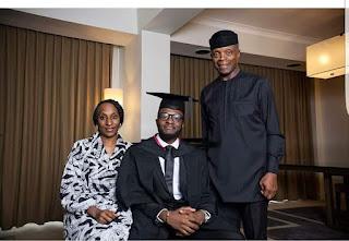 Yemi Osinbajo Attends Son's Graduation In UK