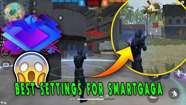 تحميل لعبة فري فاير في الحاسوب بواسطة برنامج smartGaGA وسرعة الحركة للحصول على ضربة راس بسرعة