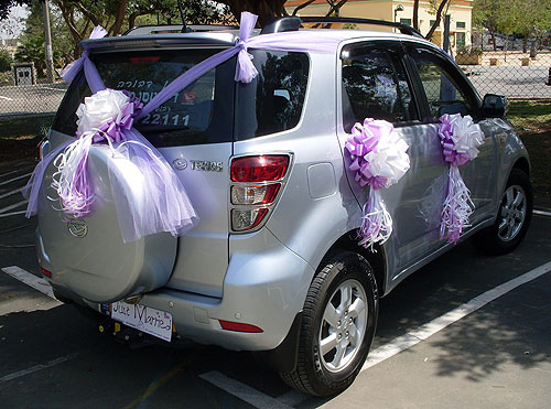 Wedding Cars Decoration Designs 2013 Impressive Car Design Ideas