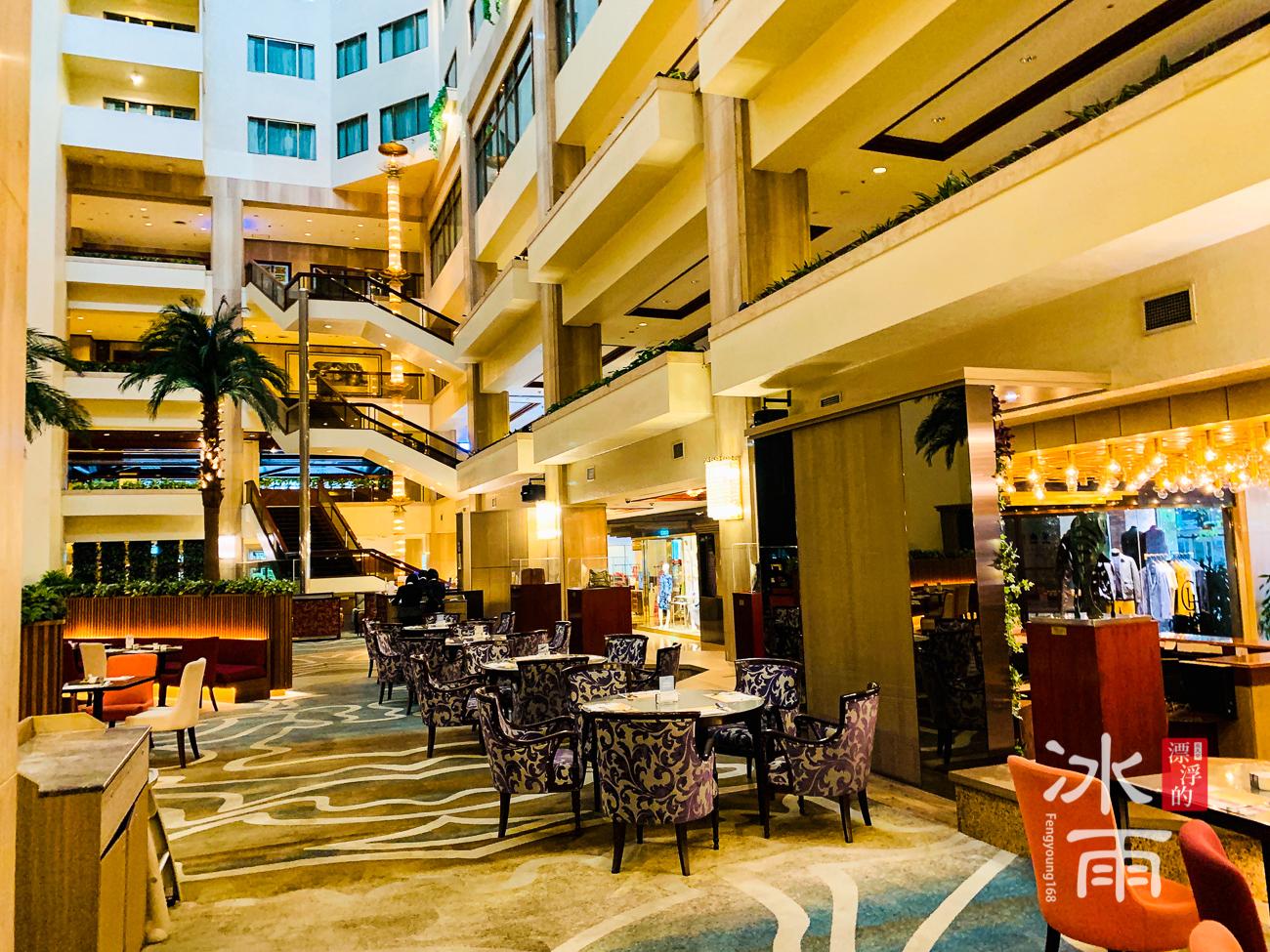 福華大飯店|中庭空間