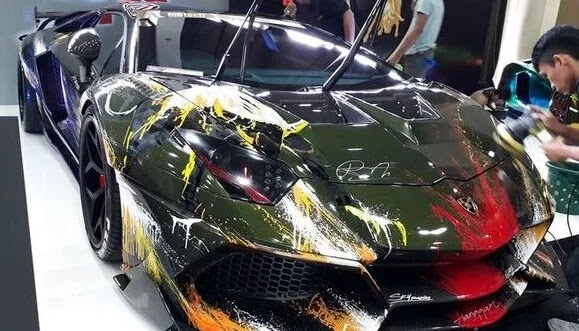 Setelah Pamer, Mobil Lamborghini Raffi Ahmad Terbakar