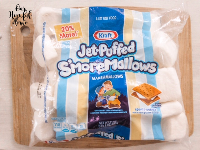 bag Kraft Jet-Puffed S'moremallows marshmallows