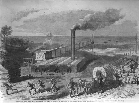Factory workers of the north vs slaves of the south