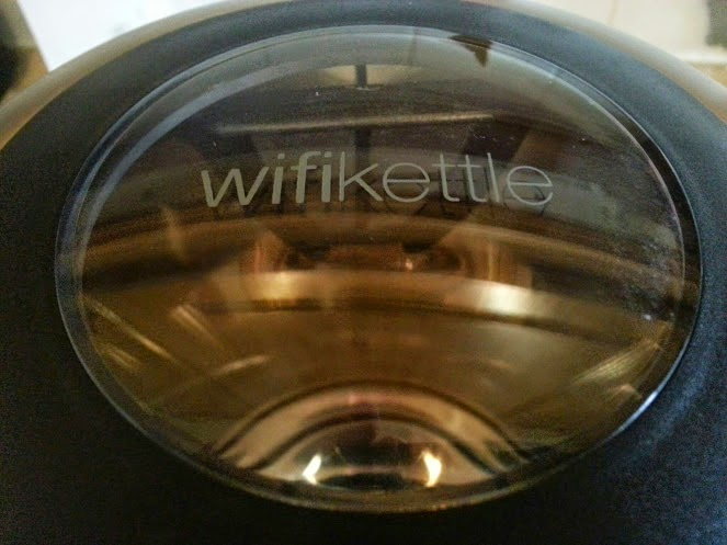 Menkind Smarter Wifi Kettle clear window lid