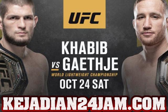 Duel UFC 254 Mempertemukan Khabib vs Gaethje Dinihari Nanti