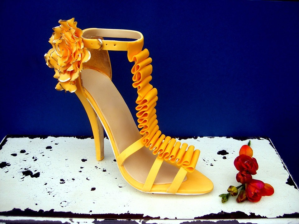Delicious Cakes In The Form Of Extravagant Shoes