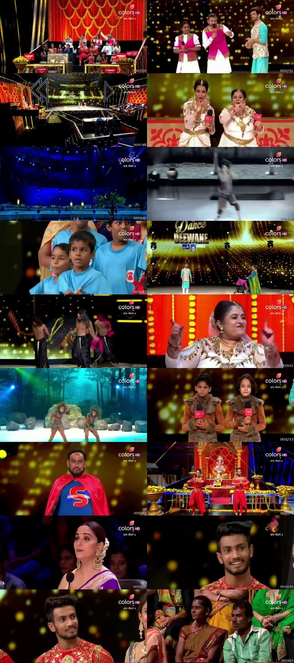 Screenshots Of Hindi Show Dance Deewane 2 1st September 2019 Episode 24 300MB 480P HD