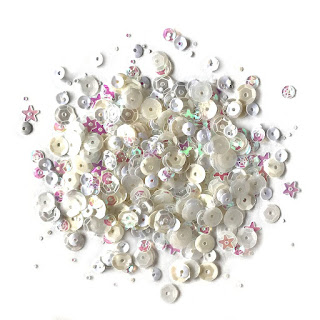 Marshmallow sequins