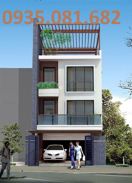 mẫu nhà 3.5 tầng đơn giản
