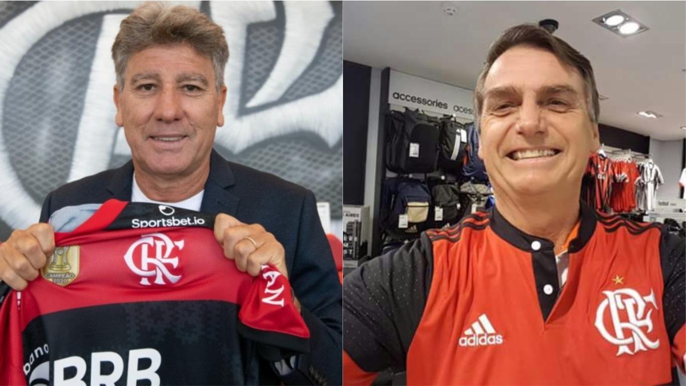 Renato Gaúcho e Bolsonaro