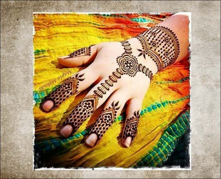 Trendy Mehndi Designs For Hands