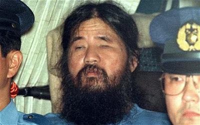 Former leader of the Aum Shinrikyo cult Shoko Asahara