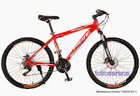 Sepeda Gunung Pacific Invert 21 Speed Shimano 26 Inci