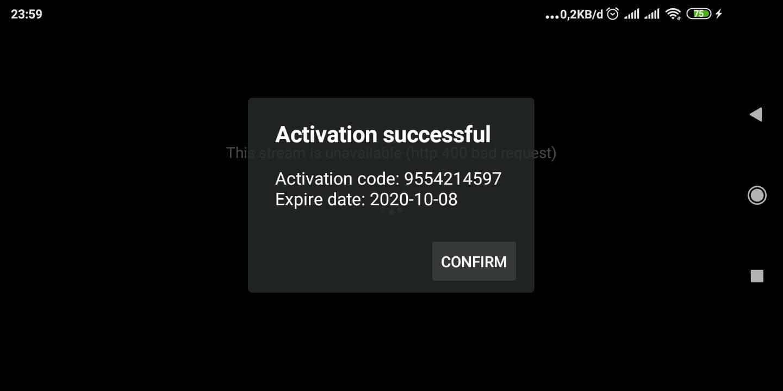 kode ZalTV aktif hingga tahun 2020