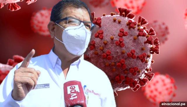 Ministro de Agricultura, Jorge Montenegro dio positivo a prueba de coronavirus