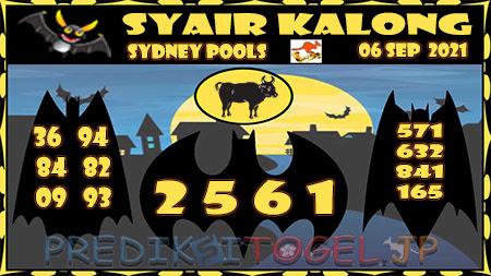 Syair Togel Kalong Sidney Senin 06 September 2021