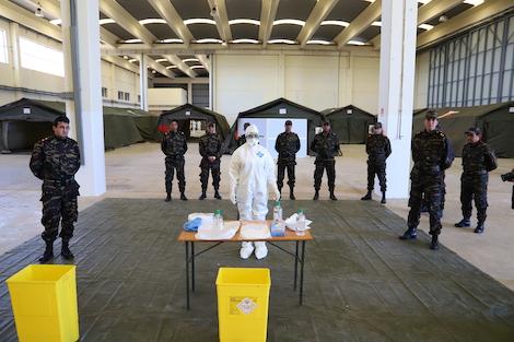 taroudantpress   المغرب يُنشىء مستشفيات ميدانية عسكرية ومدنية لمواجهة كورونا  تارودانت بريس