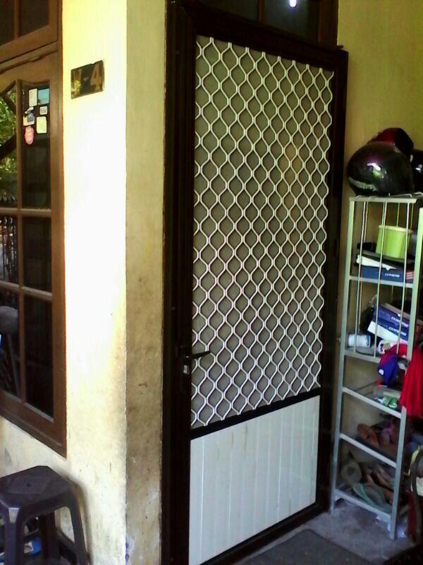 Pintu Aluminium Kasa Nyamuk / Expanda di SURABAYA ...