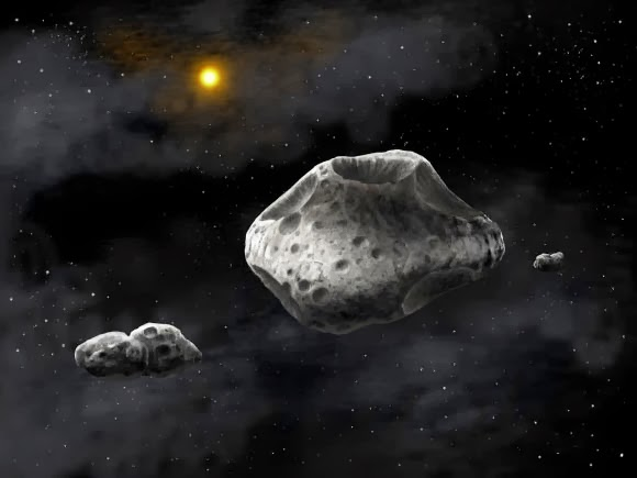 two famous asteroids - photo #9