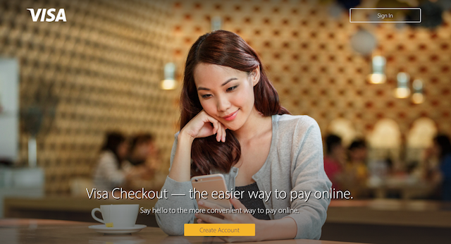 Visa Checkout - The Easier Way To Pay Online