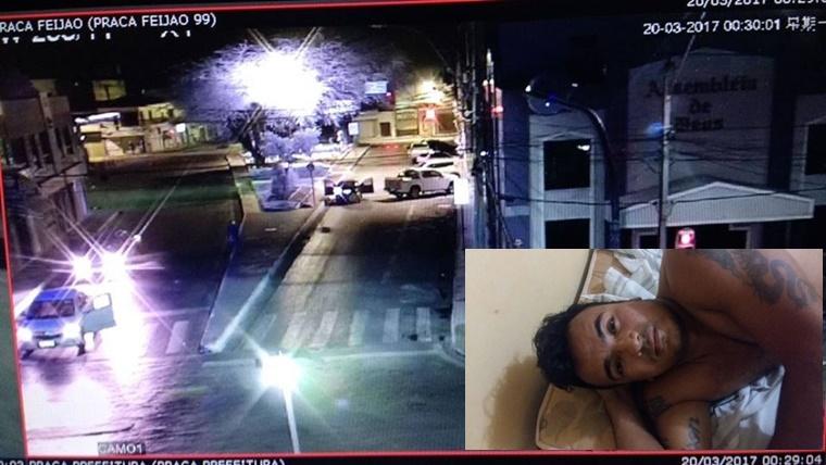Preso um dos bandidos que foi baleado em tentativa de assalto a banco na cidade de Irecê