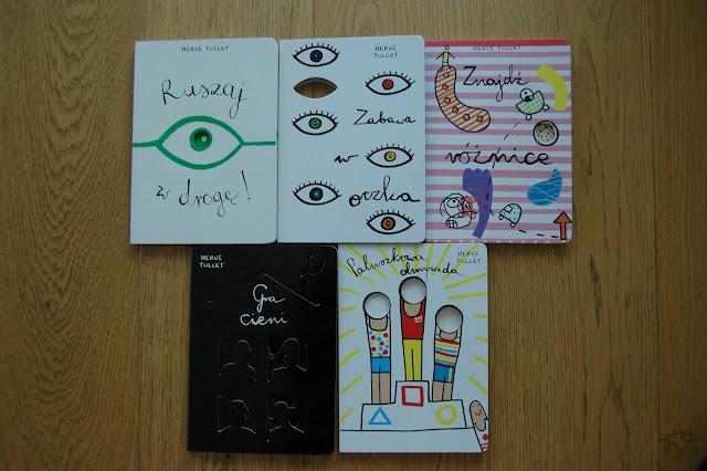 książki aktywizujące dla dzieci Herve Tullet wydawnictwo insignis rozwój kreatywności u dzieci