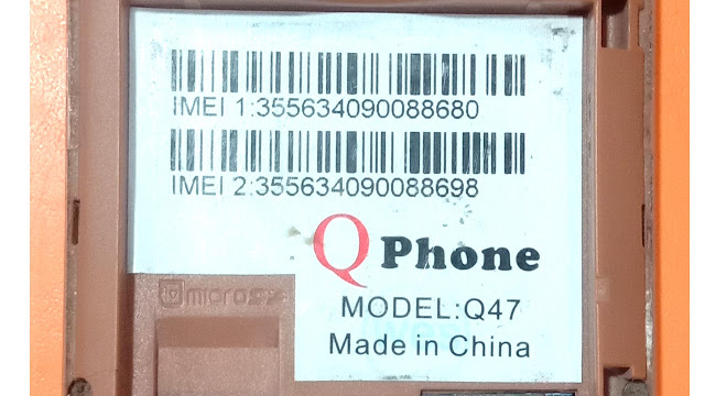 QPhone Q47 6531A Flash File Download Free Without Password Firmware