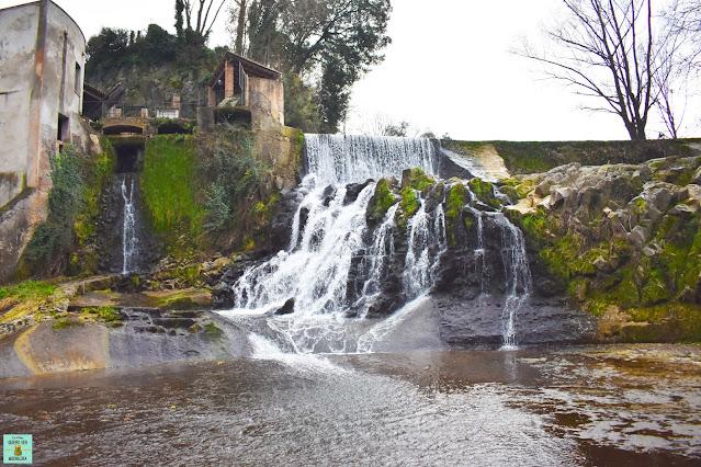 Salt del Molí Fondo en Sant Joan les Fonts, La Garrotxa
