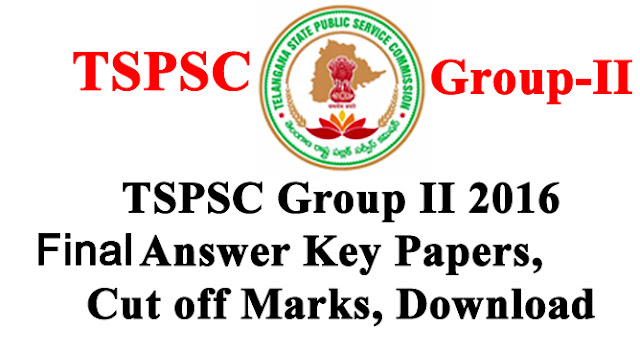 Group 2 Exam 2016 Official Final Answer Keys Download with Solutions