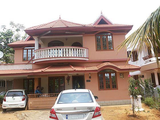 Old house elevation