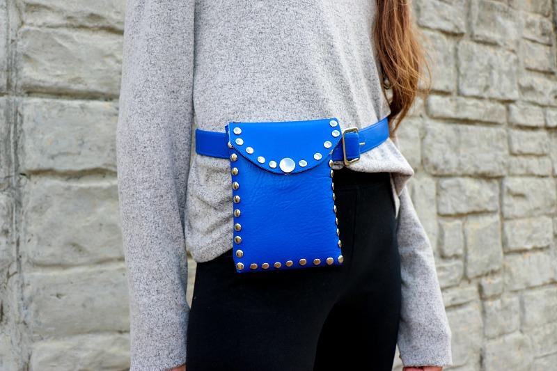 DIY Hands Free Belt Bags