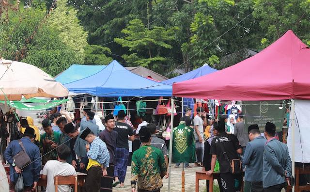 Semarak Pameran Pendidikan dan Bazar di Kongres IPNU-IPPNU Cirebon