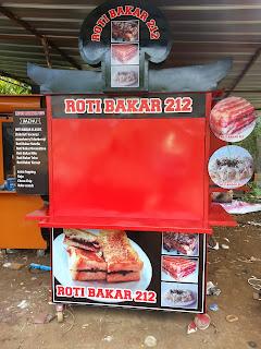 gerobak roti bakar