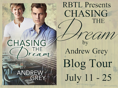 Blog Tour: Guestpost, Excerpt & Giveaway  Andrew Grey - Chasing The Dream